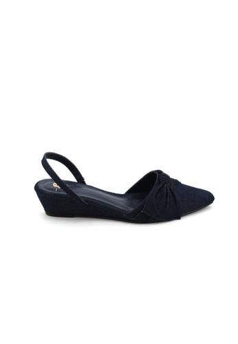 BATA BATA Women Heels - Navy 6119100 44490SH81DED17GS_1