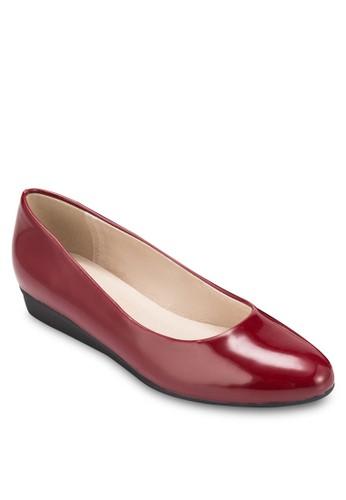 基本款蝴蝶結楔型鞋, 女鞋, 厚底楔zalora 泳衣形鞋