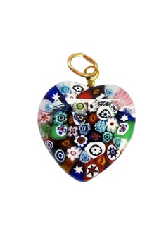 Murano Heart Pendant - The Artist