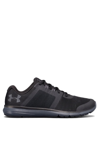 Under Armour black UA Fuse Fast Running Shoes 67E47SH3CB9502GS_1