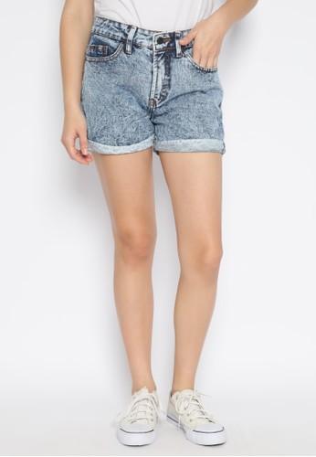 Nuber gold Zinnia Hotpants Celana Pendek Jeans Snow Blue - Gold 7B3CBAA627C78CGS_1