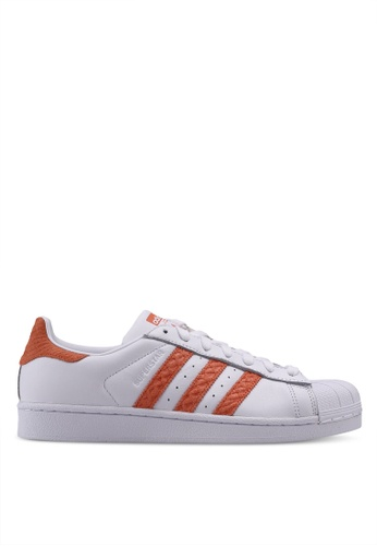 adidas white adidas originals superstar w AD372SH0SUVKMY_1