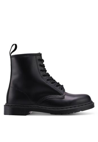 d7588989c08e Dr. Martens black Core Originals 1460 Mono 8 Eye Boots DR086SH0SX5FMY_1