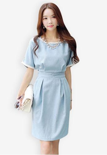 daf114652ef4b Buy Sunnydaysweety Sweet Simple Dress C040221 Online on ZALORA Singapore