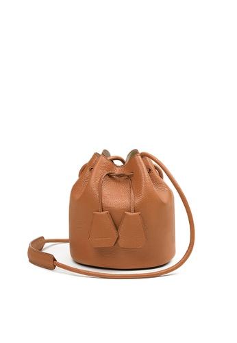 Rabeanco brown RABEANCO SPACE Small Shoulder Bag - Camel 08AE1AC8A0AC1EGS_1