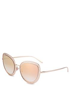 63ef4cbc227e9 Dolce   Gabbana gold Dolce   Gabbana DG2226 Sunglasses AAF29GLD915834GS 1