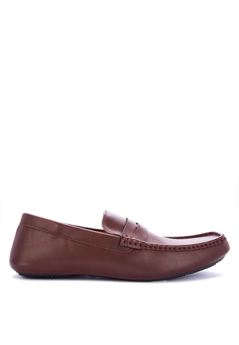 Mendrez brown Larry Loafers & Moccasins B53B2SHE66D339GS_1