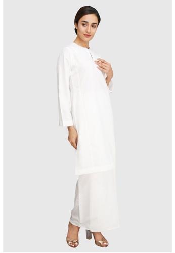 Amar Amran white Baju Kurung Pahang Qirana 0E0F8AAD6DD69EGS_1