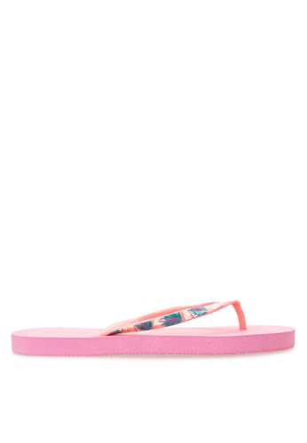 BENCH pink Basic Rubber Slippers BE550SH04LXNPH_1