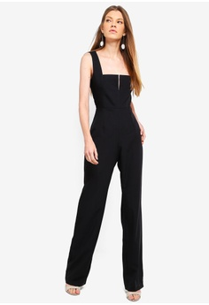 b6696b183cbe Vesper black Haven Wide Leg Jumpsuit FE115AABB22F73GS 1