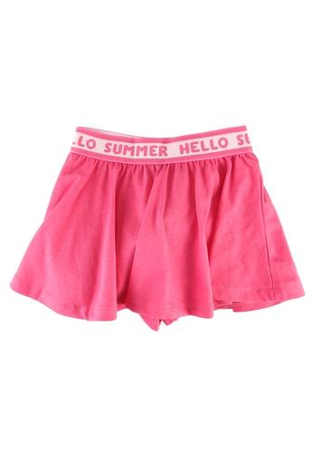 FOX Kids & Baby pink Baby Girls Waistband Skater Skirt 6F396KA4740C07GS_1
