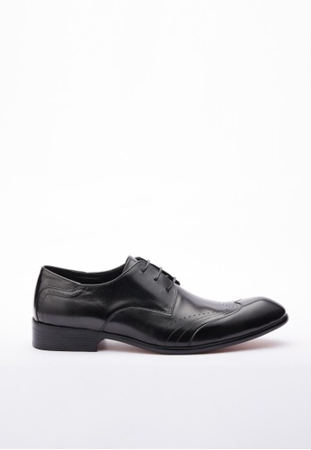 Kings Collection black Weston Formal Shoes KI358SH32DGTSG_1
