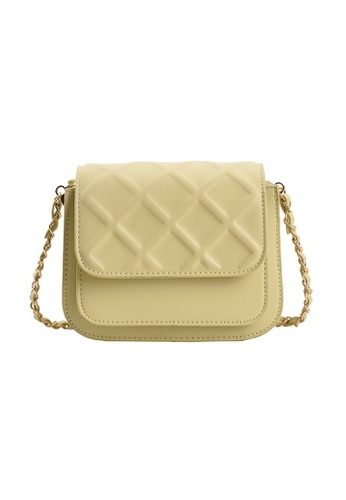 Lara green Women's PU Leather Flap Cross-body Bag - Green A8E4EAC58223B9GS_1