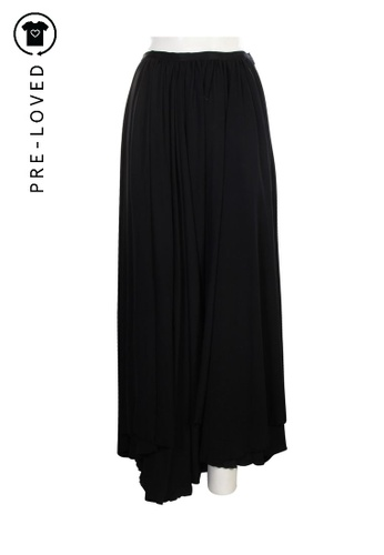 Lanvin black Pre-Loved lanvin Long Black Skirt 4F08FAA949C276GS_1