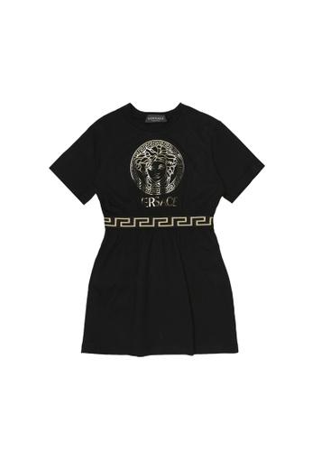 Versace black VERSACE GIRLS DRESS 2213AKAA17CE68GS_1