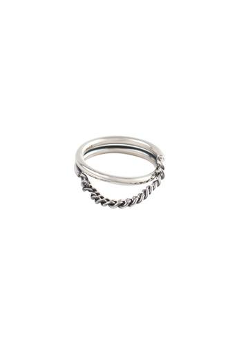 OrBeing white Premium S925 Sliver Geometric Ring 15824AC462DDEDGS_1