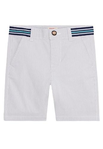 Du Pareil Au Même (DPAM) grey Grey Shorts 496D7KAD264AB6GS_1
