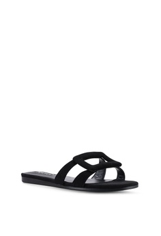 fc0b4946d6c 15% OFF Mango Casual Sandals RM 156.90 NOW RM 132.90 Available in several  sizes · Mango black Bow Leather Shoes 51F2ESH264B037GS 1