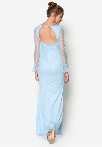 美人魚esprit香港門市蕾絲伴娘長禮服, 女裝飾品, 鞋飾品配件