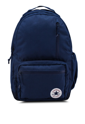 Converse navy Converse All Star Go Backpack 048E5ACBF481A1GS_1