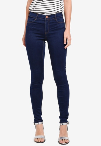 Dorothy Perkins blue R: Indigo Authentic Frankie Jeans FFF7EAAFB66E94GS_1