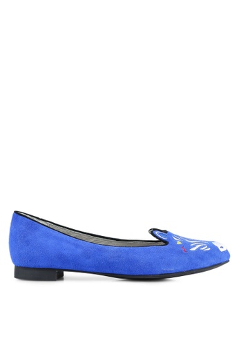 House of Avenues blue Flats HO685SH0RRATMY_1