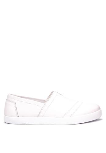 Jump white Defiance Slip On Sneakers JU701SH30DHHPH_1