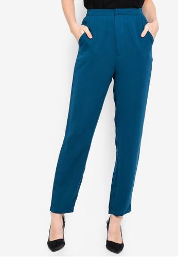 Zalia green Basic Tailored Trousers 867B2AA8B1EA2AGS_1