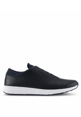 ZALORA black Hidden Lace Sneakers F5697SH3B2BF65GS_1