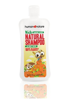 Kids Natural Shampoo & Body Wash In Tangerine Tarsier
