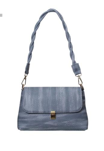 Verchini blue Verchini Twist Top Handle Bag F41C9ACCBE42C0GS_1