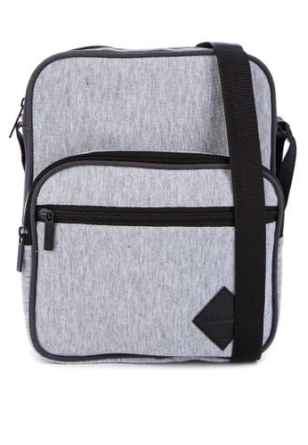 Penshoppe grey Single Jersey Sling Bag 6D528AC5C03F16GS_1