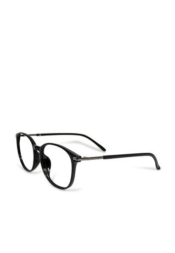 ASLLY black Subconscious│Anti-blue Light Glasses With Black Detailed Frame C093EGL0401C62GS_1