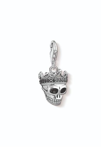 "THOMAS SABO silver Charm pendant ""Skull King"" C3970AC427DA00GS_1"