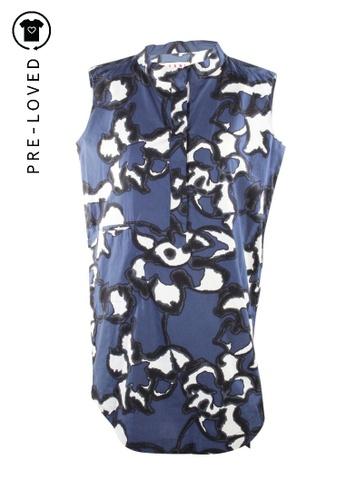 MARNI multi Pre-Loved marni Floral Print Shirt Dress 3026BAA1CFF1A0GS_1