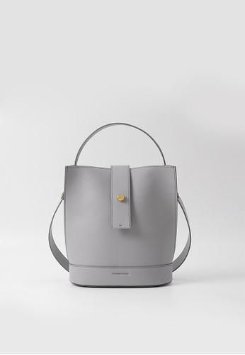 RABEANCO grey RABEANCO ARIA Shoulder Bag - Light Grey 197BEAC4F43C8CGS_1