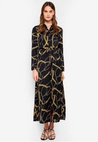 272b4ddfe36 Buy Vero Moda Chain L S Dress Online on ZALORA Singapore