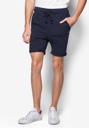 反折束口休閒短褲,esprit 折扣 服飾, 短褲