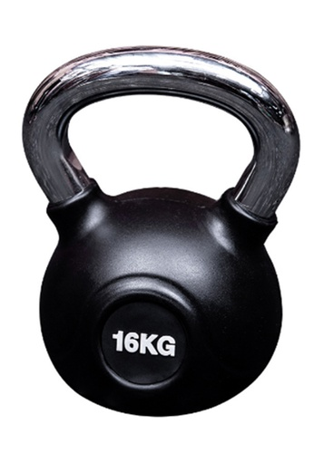 LIVE UP AND LIVE PRO. black LiveUp Rubber Kettlebells - 16Kg 9551FSE37A4CCEGS_1