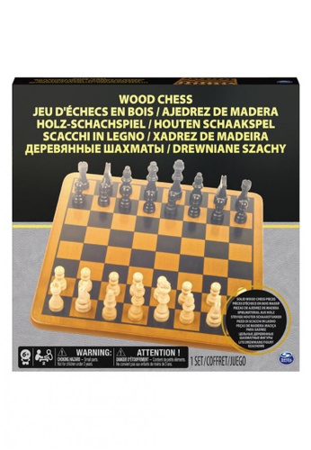 Spin Master Games multi Wooden Chess Set 8918EKC11007CCGS_1