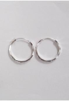 Silver Unlimited Loop Earrings