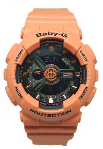 Baby-G Casio Jam Tangan Baby-G BA-111-4A2DR Orange