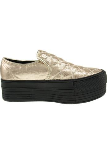Maxstar gold Maxstar Women's C50 Stitched Platform PU Slip On Shoes US Women Size MA164SH84FMPSG_1