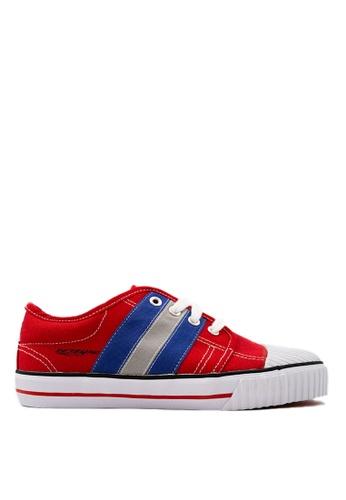 Pallas red Pallas Rejam Lo Cut Shoe Lace RJ07-003 Red 09234SH8622744GS_1