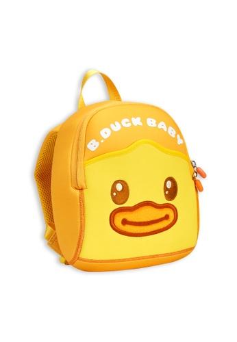 B.Duck yellow B.Duck Baby Kids Backpack (Small size) 9B731KC7EC0A5CGS_1
