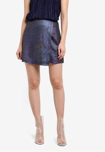 Something Borrowed multi Asymmetric Wrap Skirt 5D4E1AA86AB1DDGS_1