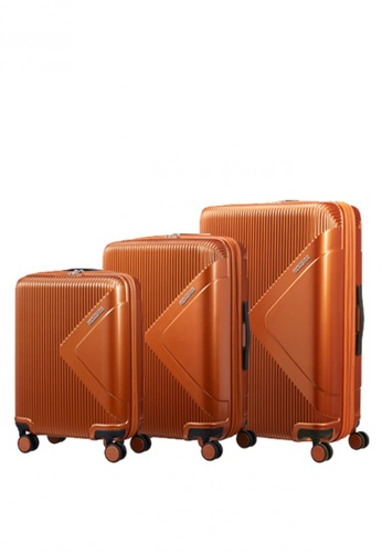 American Tourister orange Modern Dream 3 Pc Set A C1CADAC6477A8CGS_1