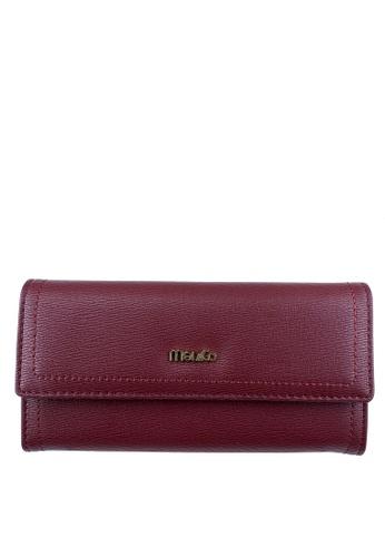 Mel&Co red Faux Leather Long Wallet 65045AC9A937D8GS_1