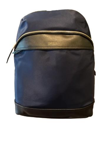 "Targus blue and gold Targus 12"" Newport Mini Backpack 51136ACC649A55GS_1"