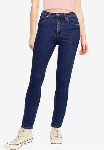 Electro Denim Lab blue High Rise Skinny Jeans B6115AA1174917GS_1